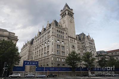 Old Post Office - Trump Hotel Poster by David Bearden