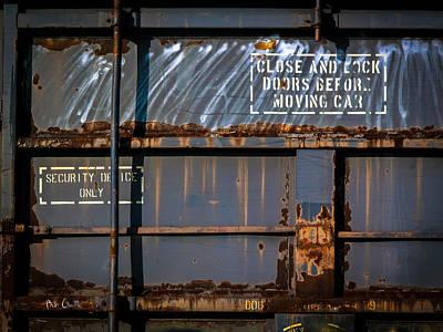 Old Railroad Boxcar  Poster by Bob Orsillo