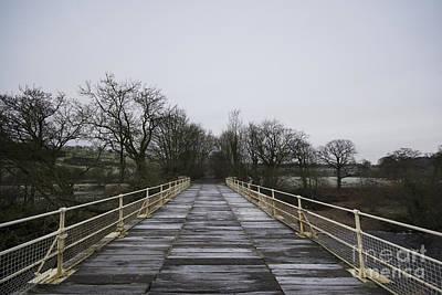 Old Railway Bridge Poster by Nichola Denny