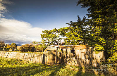 Old Ramshackle Wooden Shack Poster by Jorgo Photography - Wall Art Gallery