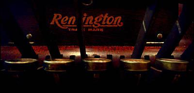 Old Remington Cash Register Poster by Lori Seaman