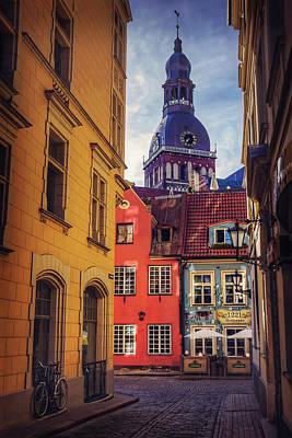 Old Riga  Poster by Carol Japp