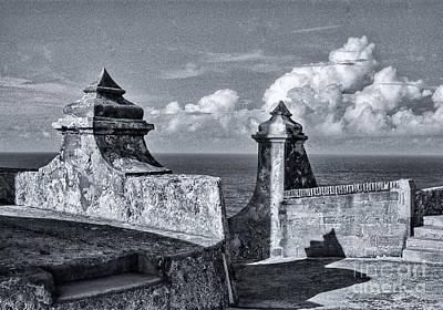 Old San Jaun Fort Poster