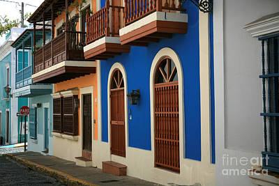 Old San Juan #4 Poster by Timothy Johnson