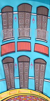 San Juan Alegre-2 Poster by Mary Tere Perez