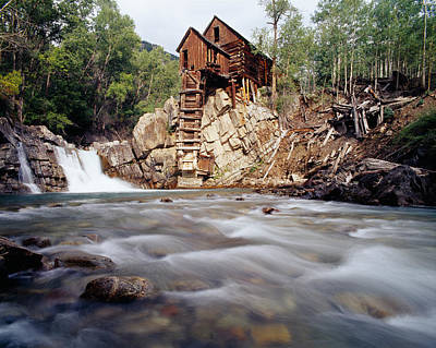 Old Saw Mill, Marble, Colorado, Usa Poster