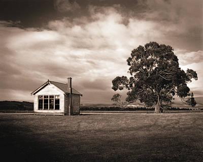 Old School House, Otahu Flat, New Zealand Poster