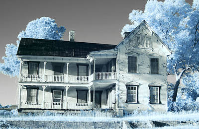 Old Shull House In 642 Poster