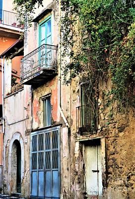 Old Sorrento Street Poster