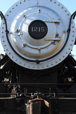 Old Steam Locomotive Engine 1215 . 7d12976 Poster
