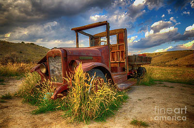 Old Timer Bannack Montana Poster by Bob Christopher