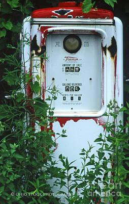 6g1 Old Tokheim Gas Pump Poster