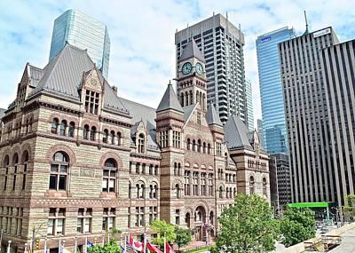 Old Toronto City Hall Poster