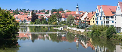 Old Town At The Neckar River Poster by Panoramic Images