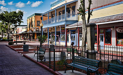 Old Town - Kissimmee - Shade To Sunlight Poster by Greg Jackson