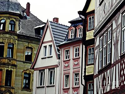 Old Town Mainz Poster by Sarah Loft
