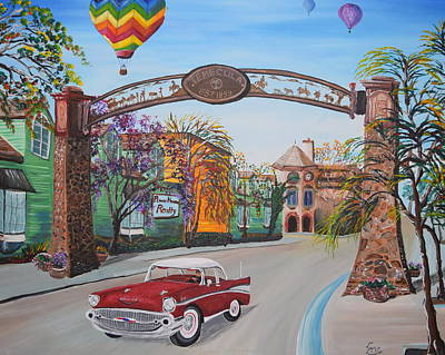 Old Town Temecula Poster