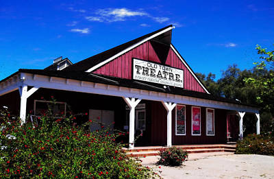 Old Town Theatre - San Diego Poster by Glenn McCarthy Art and Photography