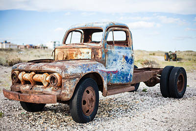 Poster featuring the photograph Old Truck by Silvia Bruno