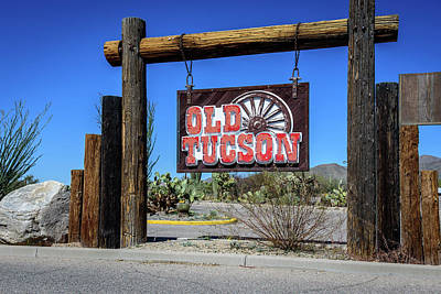 Old Tucson - Arizona Poster