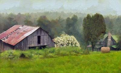 Old West Va Farm Poster by Judy Coggin