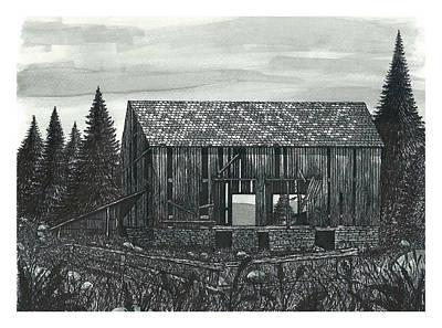Old Wilderness Barn Poster