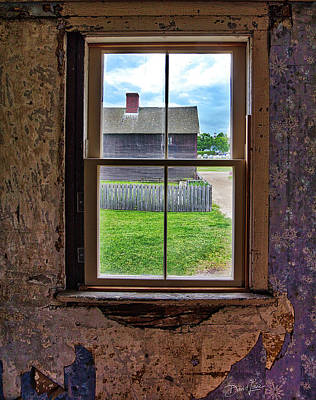 Poster featuring the photograph Old Window by David A Lane