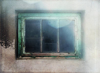 Old Window Poster by Terry Davis