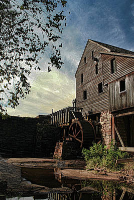 Old Yates Mill- Artsy Poster