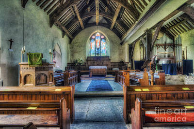 Olde Church Poster by Ian Mitchell