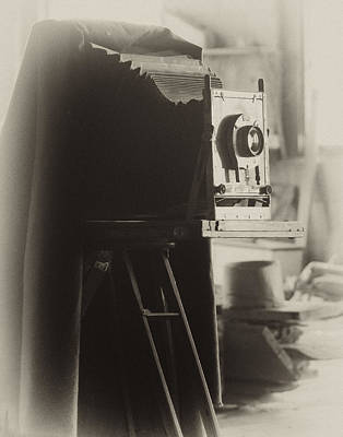 Olde Tyme Camera Poster by Ann Tracy