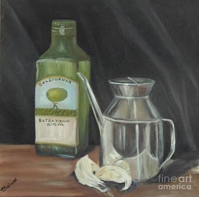 Olive Oil Poster by Isabel Honkonen