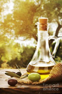 Olive Oil Poster by Jelena Jovanovic