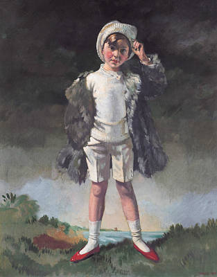 Oliver Duane Odysseus Gogarty Poster by William Orpen
