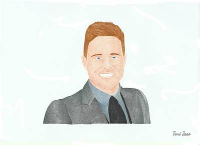 Olly Murs Poster by Toni Jaso