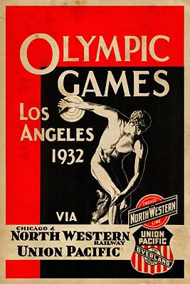 Olympic Games Los Angeles 1932 - Vintagelized Poster