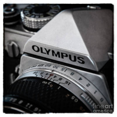 Poster featuring the photograph Om-1 - D010028b by Daniel Dempster