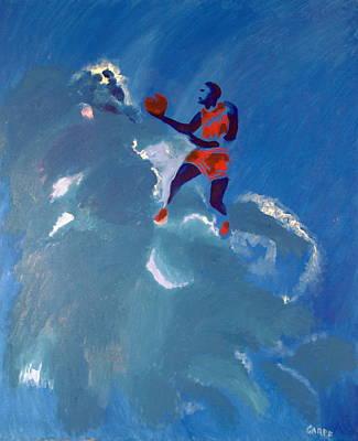 Omaggio A Michael Jordan Poster by Enrico Garff