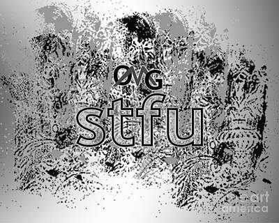 Omg Stfu Poster