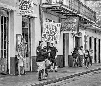 On Bourbon Street 2 - Paint Poster by Steve Harrington