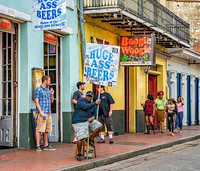 On Bourbon Street 2 Poster by Steve Harrington