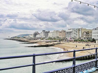 On Brighton's Palace Pier Poster