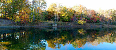 Poster featuring the photograph On Gober's Pond by Max Mullins