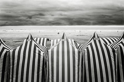 On The Beach Poster by Toni Guerra
