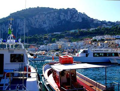 On The Coast Of Capri Poster