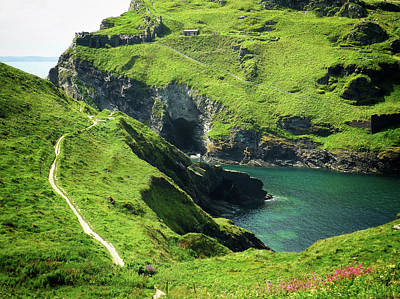 Poster featuring the photograph On The Road To Tintagel by Connie Handscomb