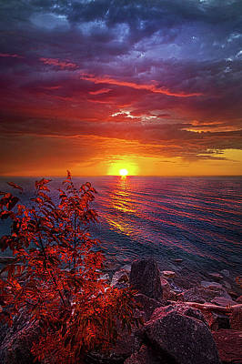 Once Again Poster by Phil Koch