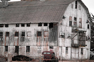 Once Upon A Barn Poster by David Bearden