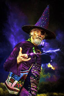 One Eyed Wizard Poster by John Haldane
