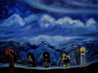 One Night As An Eternity Poster by Aleksei Gorbenko